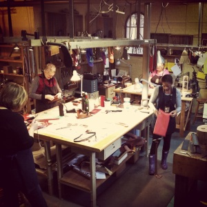 The workshop.
