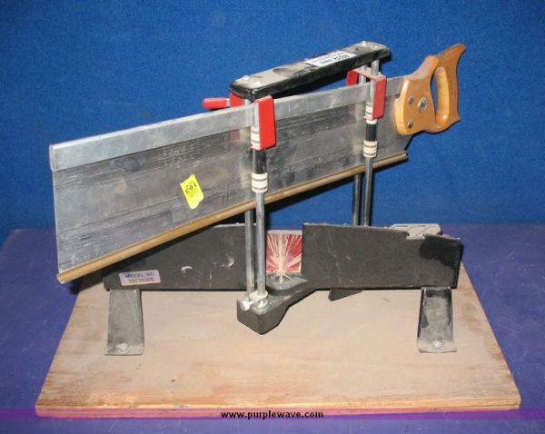 Ye olde miter box is a mighty handy alternative to the miter saw.