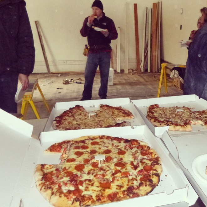 If you want to save your homes, resources, neighborhoods and possibly even souls, you must provide pizza. It is the #1 rule of organizing.
