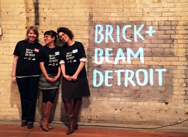 Brick + Beam Trio